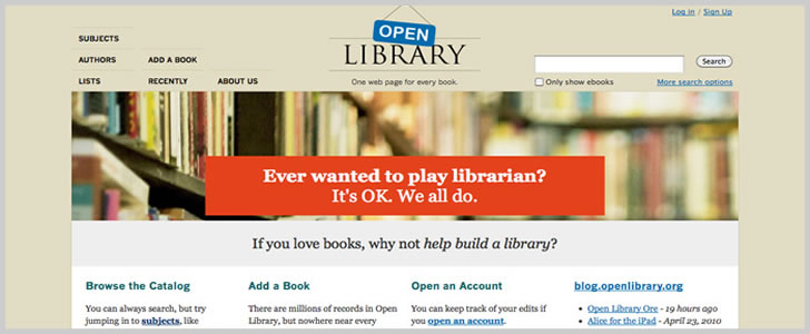 Open Library Search