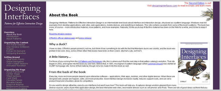 About the Book - Designing Interfaces