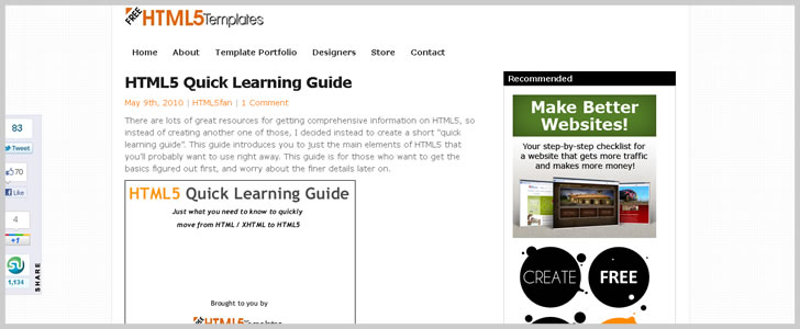 HTML5 Quick Learning Guide