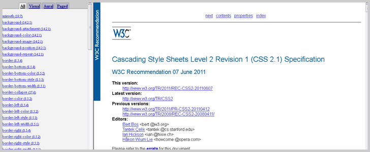 CSS2 Reference