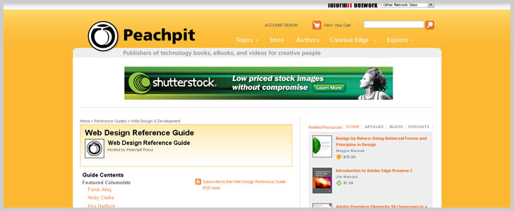 Peachpit: Web Design Reference Guide