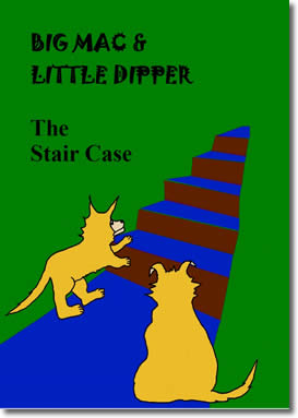 Big Mac and Little Dipper in The Stair Case by Danielle Bruckert