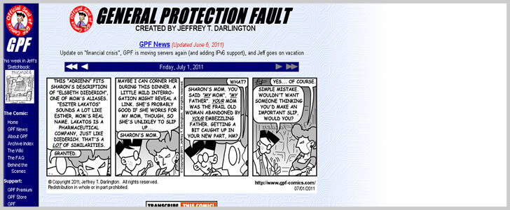 General Protection Fault
