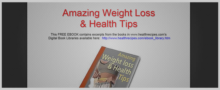 Amazing Weight Loss & Health Tips
