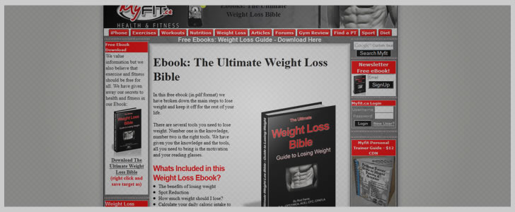 The Ultimate Weight Loss Bible by Rod Ferris