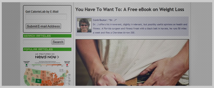 You Have To Want To: A Free eBook on Weight Loss by Dr. J