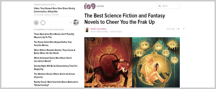 BThe Best Science Fiction and Fantasy Novels to Cheer You the Frak Up