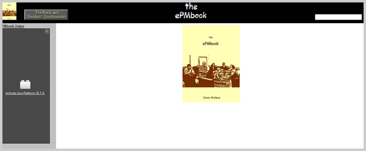 The epmBook by Simon Wallace