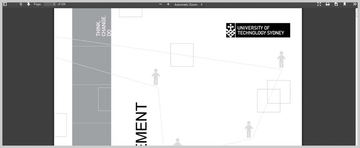 The UTS Program Guide To Project Management Book