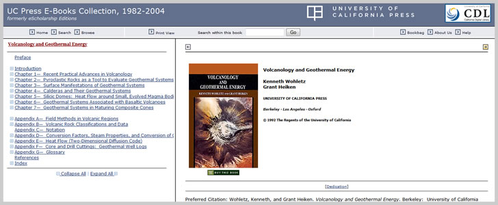 Volcanology and Geothermal Energy by Kenneth Wohletz and Grant Heiken