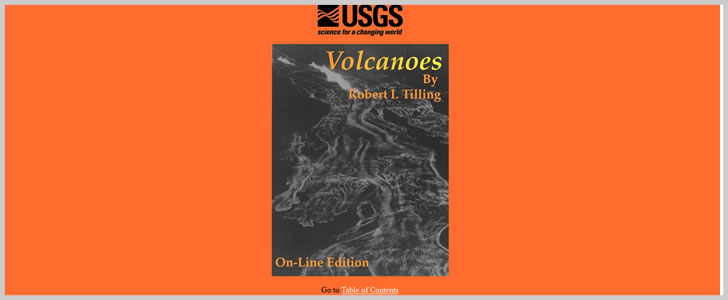 Volcanoes by Robert I. Tilling