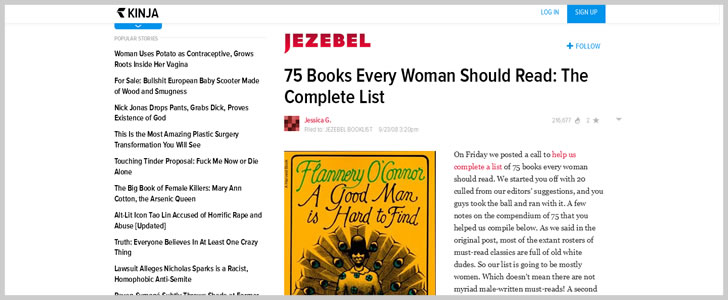 75 Books Every Woman Should Read: The Complete List