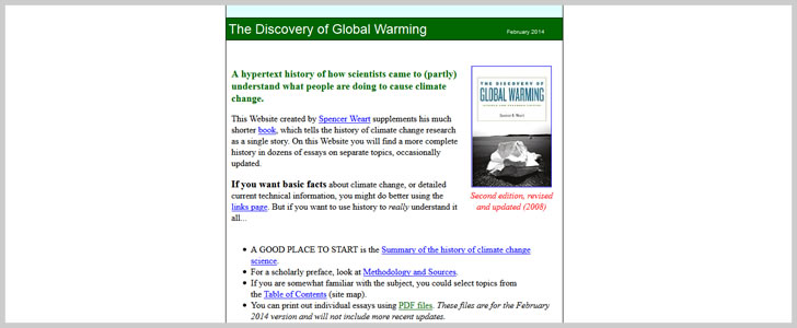 The Discovery of Global Warming: Revised & Expanded Edition by Spencer R. Weart