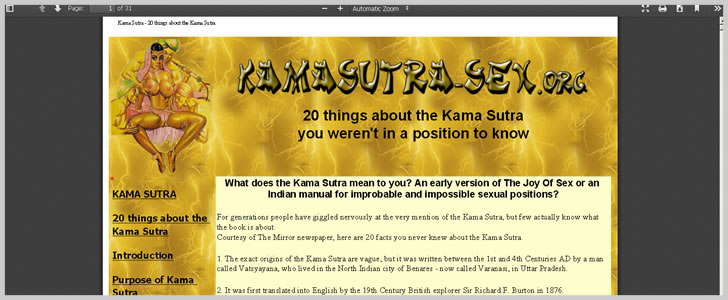 20 Things About Kama Sutra You Weren't In A Position To Know
