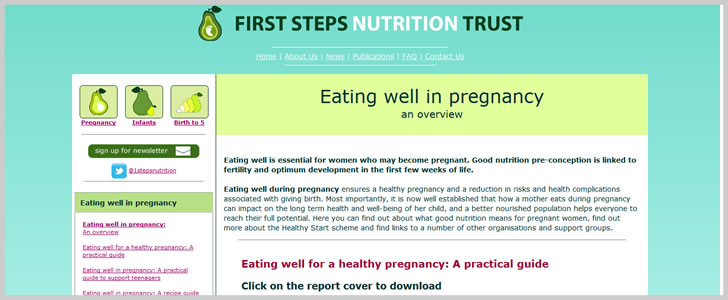 Eating Well for A Healthy Pregnancy: A Practical Guide by Dr Helen Crawley