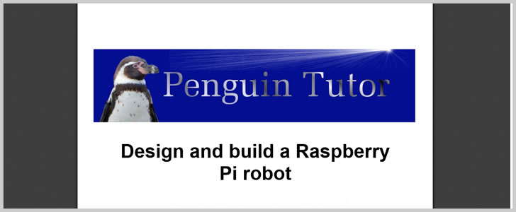Learn How-to Design and Build a Raspberry Pi Robot by Stewart Watkiss