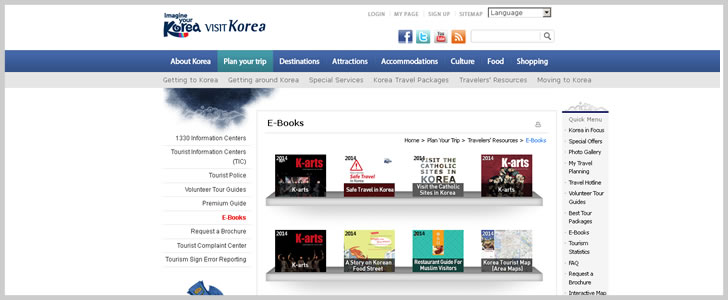 South Korea: Travelers' Resources