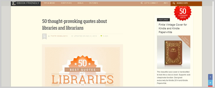 50 Thought-Provoking Quotes About Libraries And Librarians