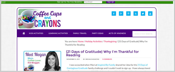 {21 Days Of Gratitude} Why I'm Thankful For Reading