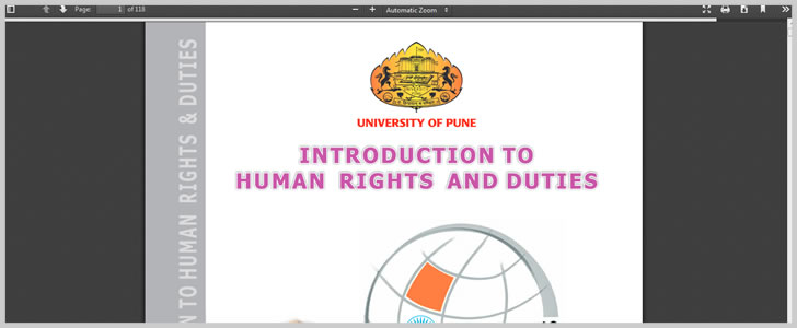 Introduction to Human Rights and Duties by Dr. T. S.N.Sastry