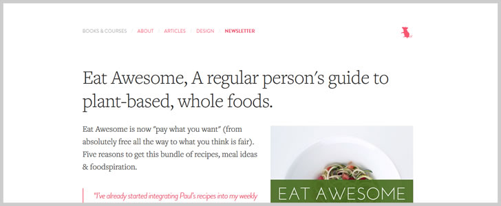 Eat Awesome - A Regular Person's Guide to Plant-Based, Whole Foods