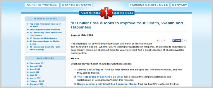 100 Killer Free eBooks to Improve Your Health, Wealth and Happiness