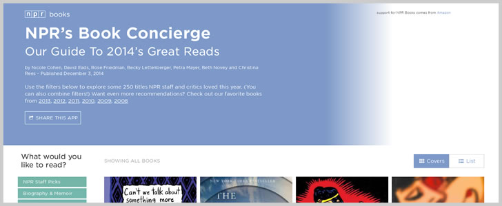 Npr's Book Concierge - Our Guide To 2014'S Great Reads