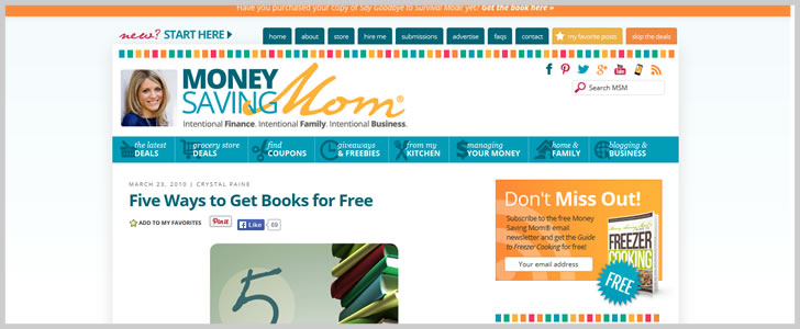 Five Ways To Get Books For Free