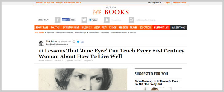 11 Lessons That 'Jane Eyre' Can Teach Every 21st Century Woman About How To Live...
