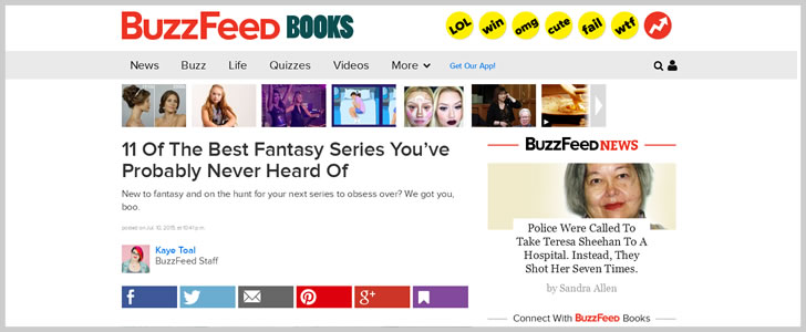 11 Of The Best Fantasy Series You've Probably Never HeardOf