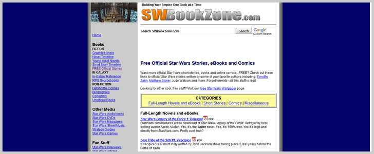 Free Official Star Wars Stories, Ebooks and Comics