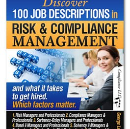 Discover 100 Job Descriptions in Risk and Compliance Management and what it takes to get hired. Which factors matter
