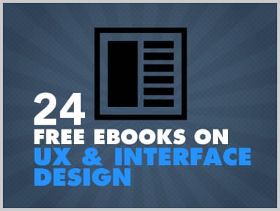 24 Free Ebooks On UX And Interface Design