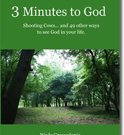 3 Minutes to God – Shooting Cows…and 49 other ways to see God in your Life!