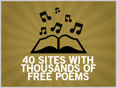 40 Sites With Thousands of Free Poems