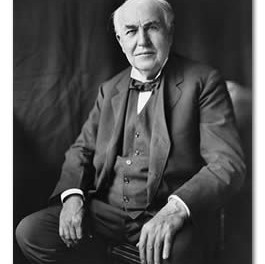 Today is Thomas Alva Edison's Birthday