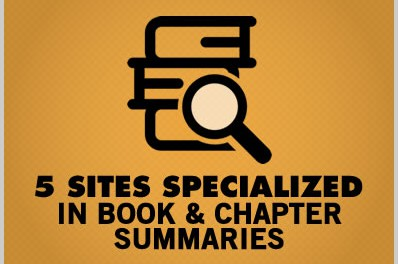 5 Sites Specialized in Book & Chapter Summaries