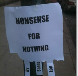 Nonsense For Nothing