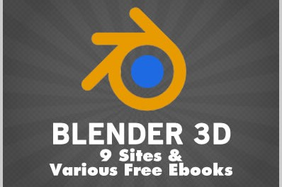 Blender 3D: 9 Sites & Various Free Ebooks