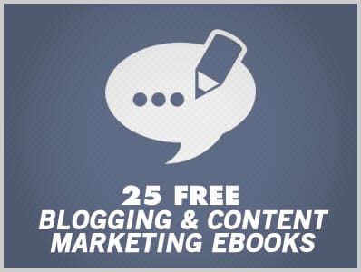 23 Free Blogging & Content Marketing Ebooks