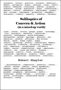 Soliloquies of Concern & Action in a mixed-up world