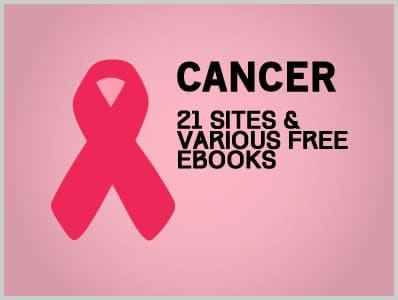 Cancer: 21 Sites & Various Free Ebooks