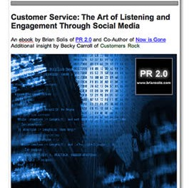 Customer Service: The Art of Listening and Engagement Through Social Media
