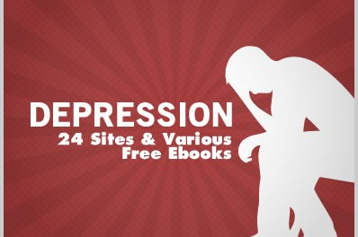 Depression: 24 Sites & Various Free Ebooks