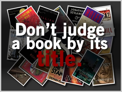 Don't Judge A Book By Its Title – 20 Seemingly Uninteresting Titles That Will Amaze You