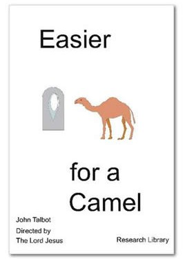 Easier For A Camel