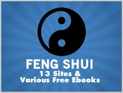 Feng Shui: 13 Sites & Various Free Ebooks