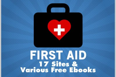 First Aid: 17 Sites & Various Free Ebooks