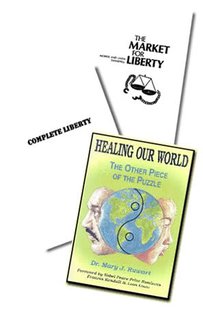 3 Free Audio & Ebooks on Freedom & Healing Our World