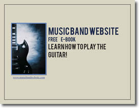 Musicbandwebsite Guitar Playing